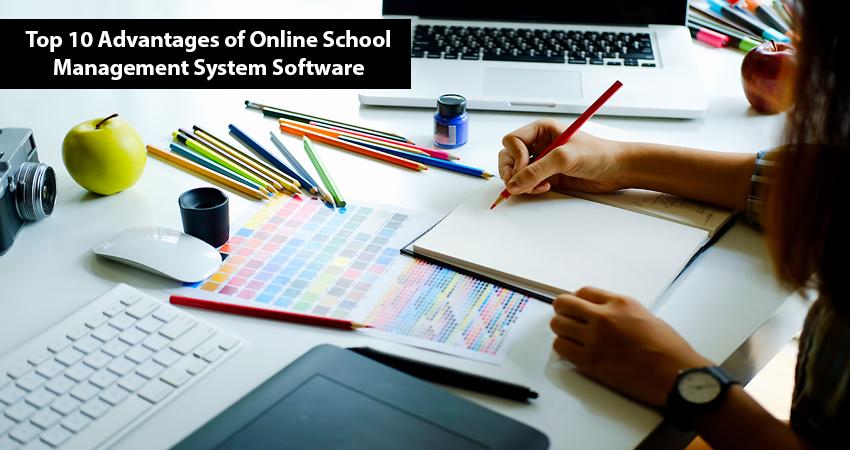 Online School Management System Software