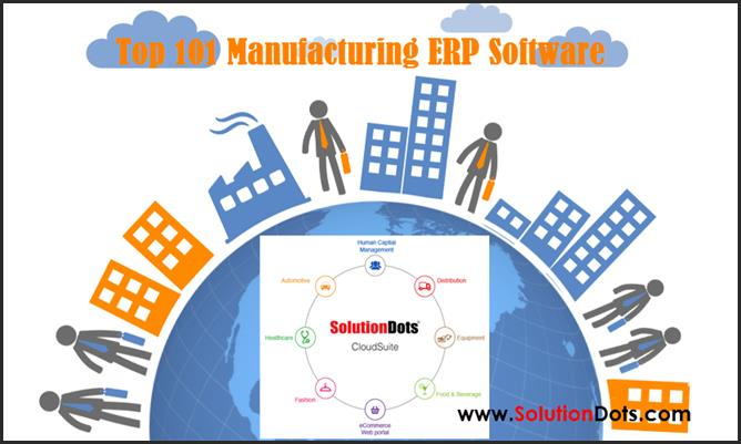 Manufacturing ERP Software image