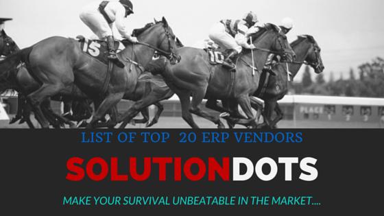 ERP Vendors - SolutionDots image