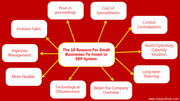 10 Reasons For Small Businesses To Invest in ERP System image