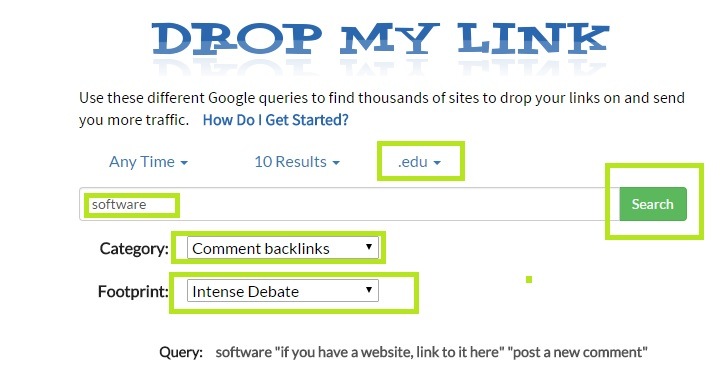 Drop mylink 3
