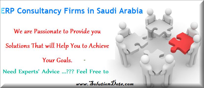 ERP Consultancy Firms in Saudi Arabia