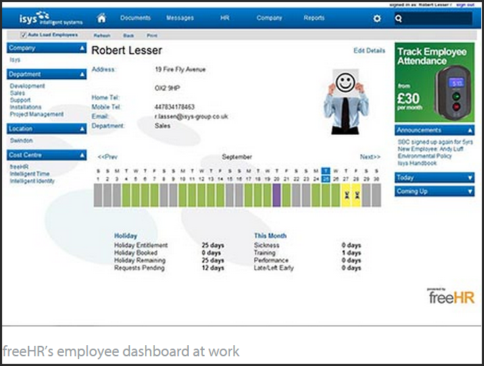 Top 12 Free and Open Source HR Software Systems