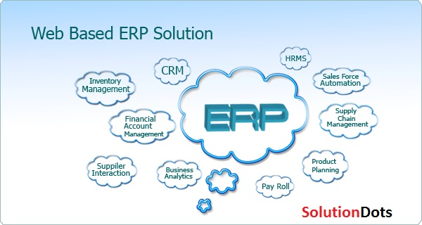 web based erp solutiondots