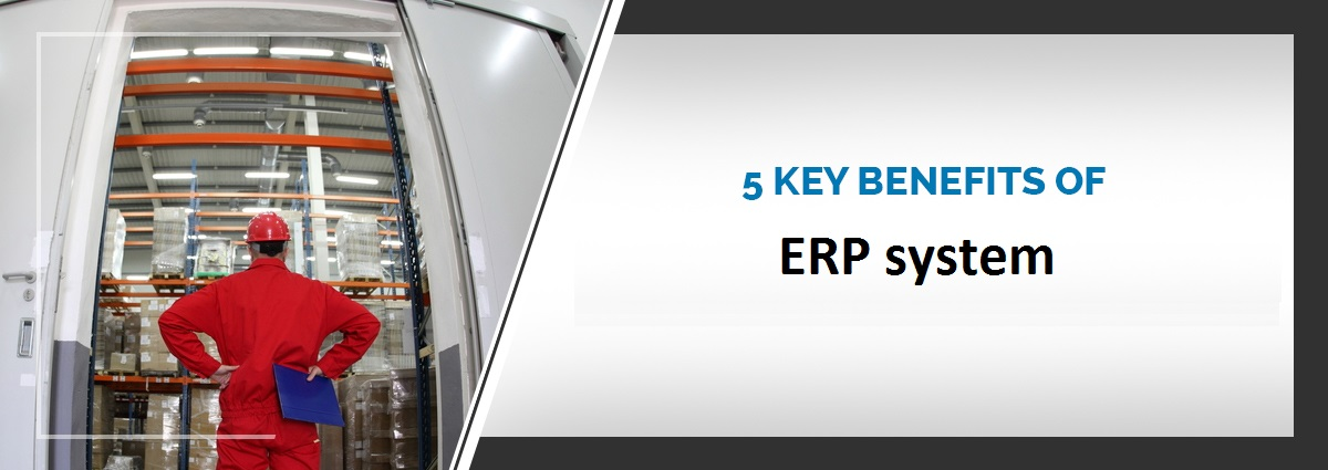 5 The key benefits of ERP system