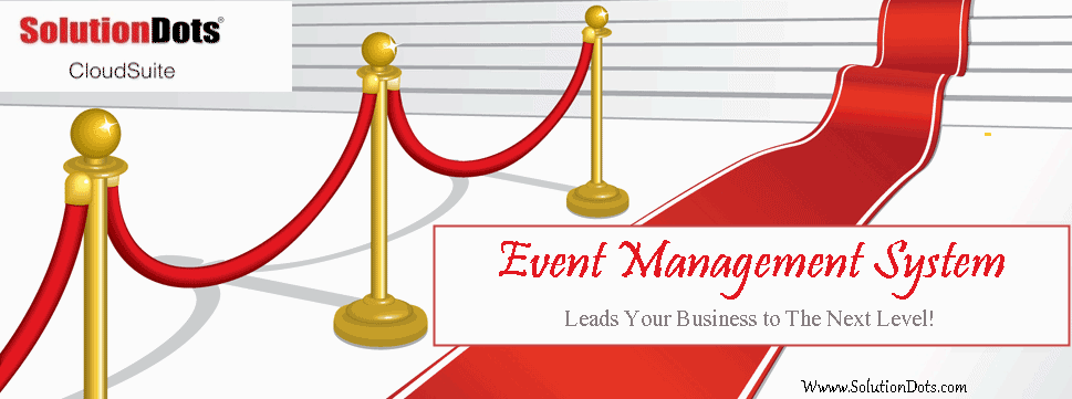 event management system developed by SolutionDots Systems