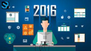 Top 10 web design trends in 2016