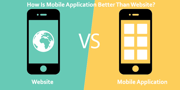 Mobile Application vs. Website