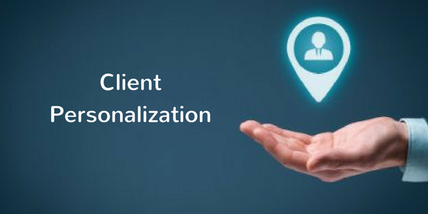 client personalization