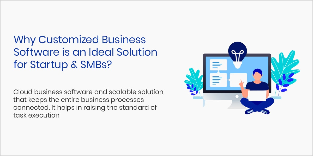 Why Customized Business Software is an Ideal Solution for Startup & SMBs