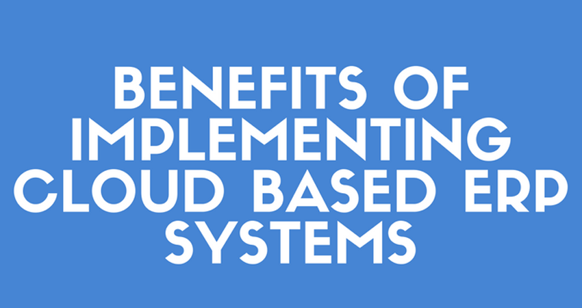 cloud based erp system Cloud-based erp systems are more common than ever before today, nearly every erp vendor offers some form of cloud deployment option , and some have ditched their on-premise offerings altogether but there are still several reasons why a small or midsize business might choose a traditional on-premise system, which, until recently, was the norm.