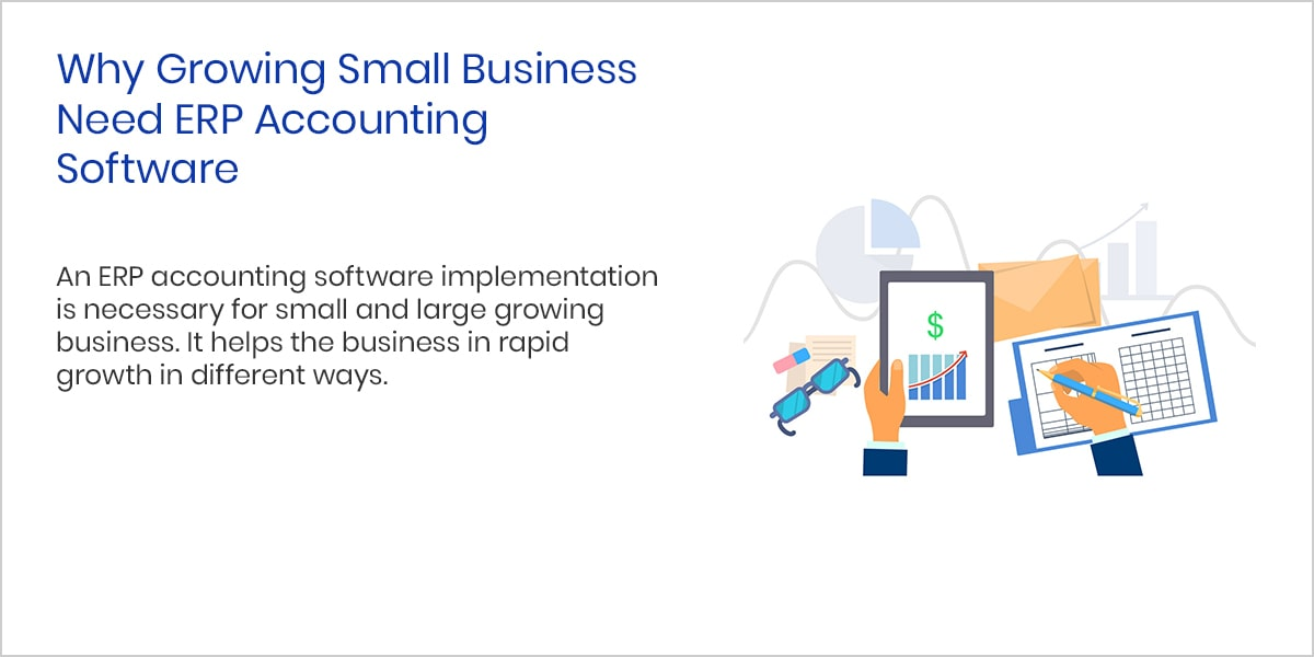 Why Growing Small Business Need ERP Accounting Software?