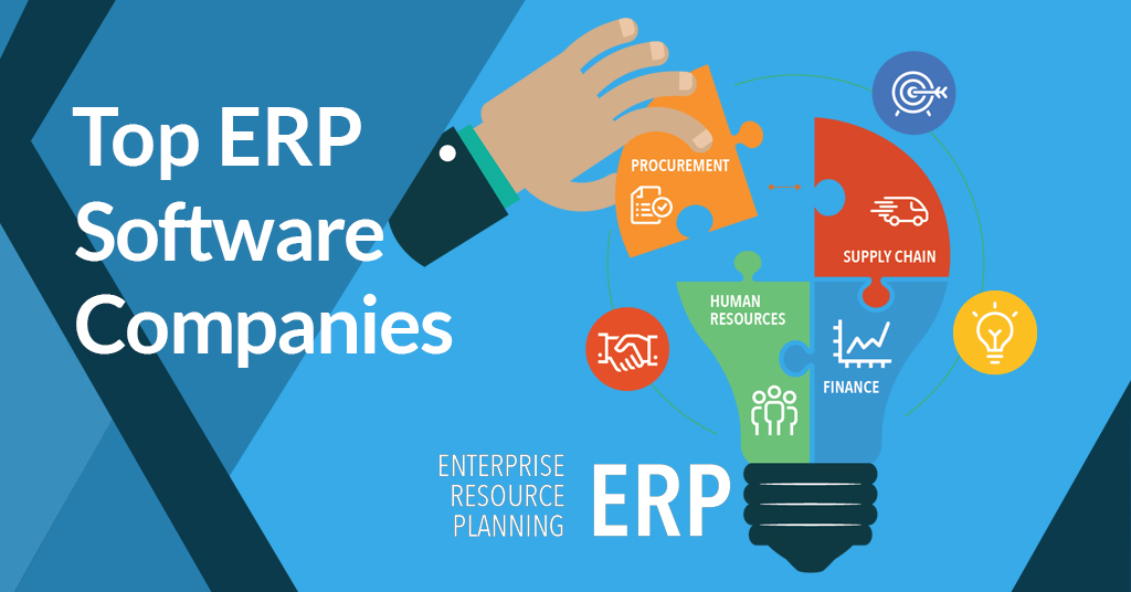 top erp companies