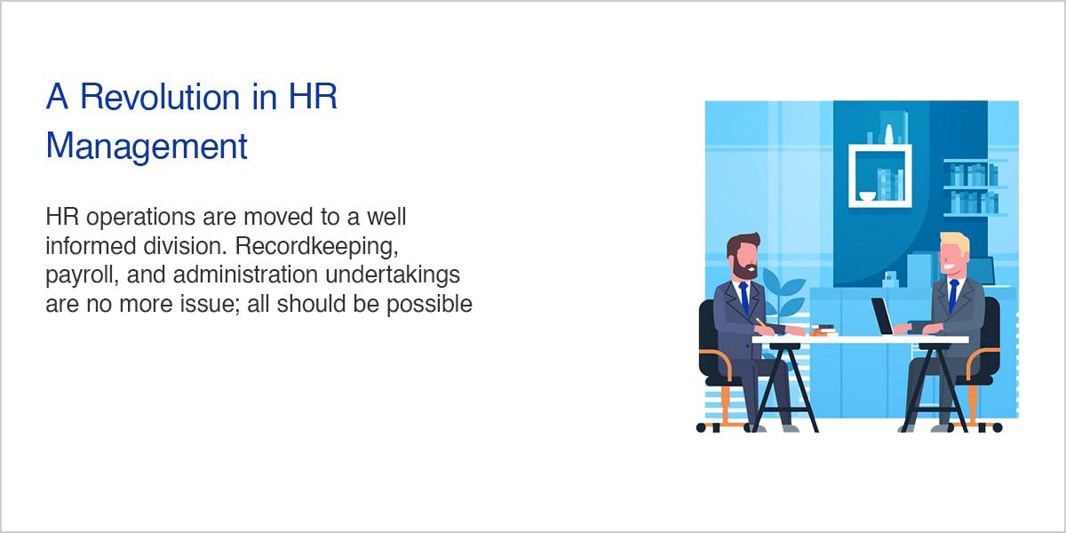 A Revolution in HR Management