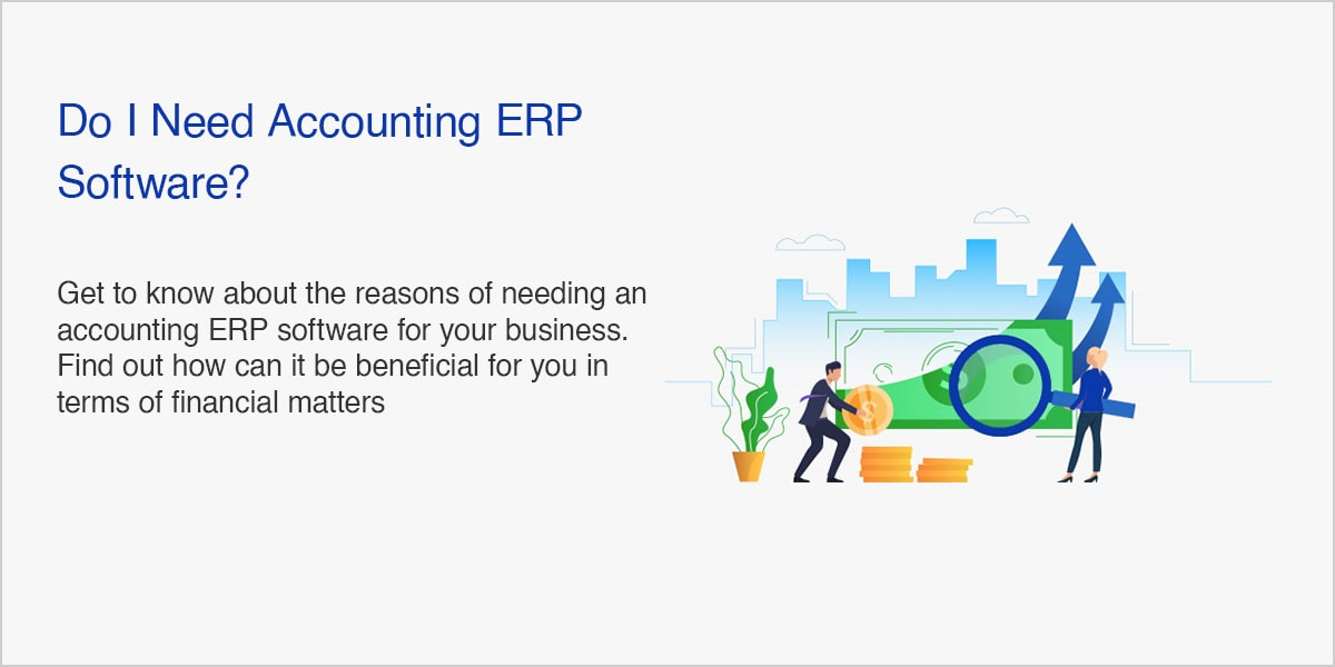 Do I Need Accounting ERP Software