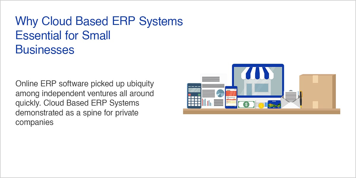 Why Cloud Based ERP Systems Essential for Small Businesses