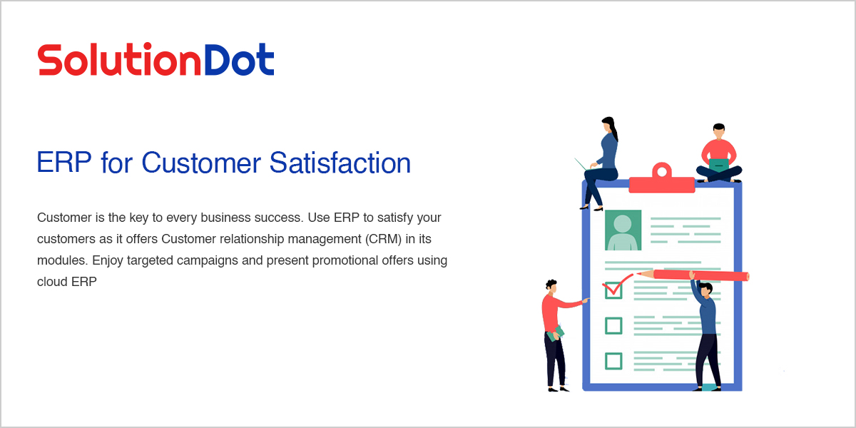 ERP for Customer Satisfaction