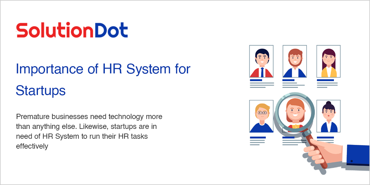 Importance of HR System for Startups
