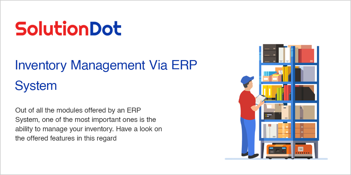 Inventory Management Via ERP System