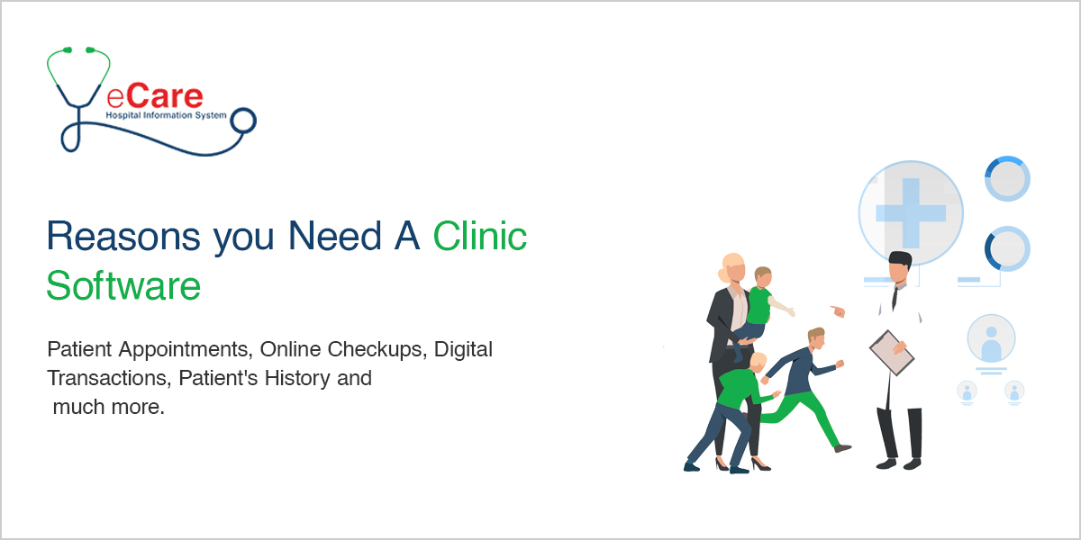 Reasons you Need A Clinic Software