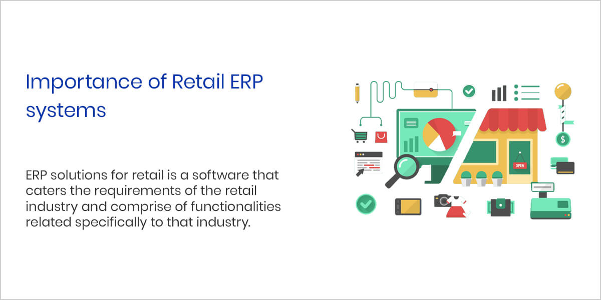 Importance of Retail ERP systems