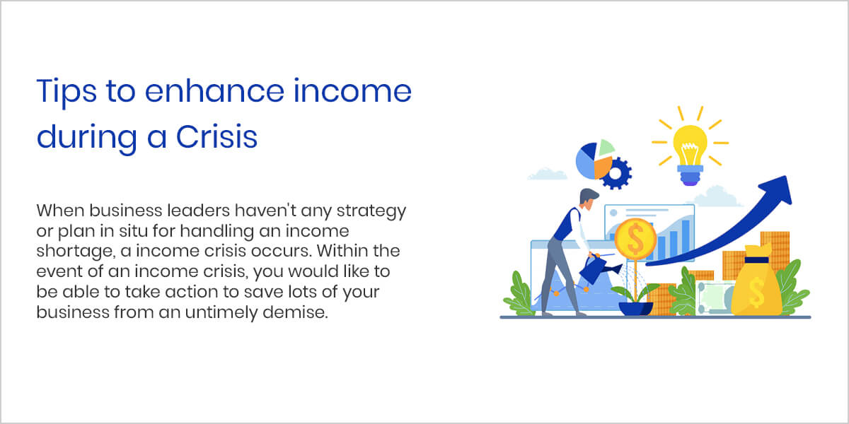 Tips to enhance income during a Crisis